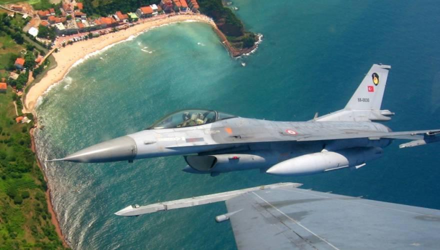 Νέες παραβιάσεις από τουρκικά μαχητικά πάνω από το Αιγαίο