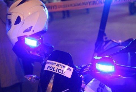 Αστυνομική καταδίωξη στη Θεσσαλία