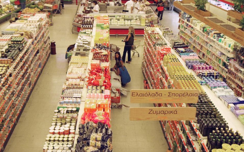 Τύρναβος: Άδειασαν τρόφιμα από σούπερ μάρκετ