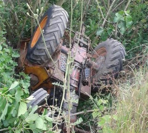 Δυστύχημα με τρακτέρ - Νεκρός 60χρονος