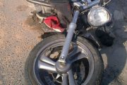 Τροχαίο στη Λάρισα – Μηχανή συγκρούστηκε με φορτηγό!