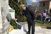 Με κάθε επισημότητα πραγματοποιήθηκε ο εορτασμός της 25η Μαρτίου στο Δήμο Τεμπών