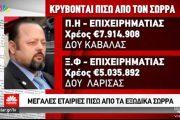 Λαρισαία επιχειρηματίας με χρέη 5 εκατ. ευρώ έστειλε εξώδικο Σώρρα στην τοπική ΔΟΥ (Βίντεο)