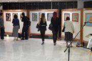 Εγκαινιάστηκε η έκθεση «Γέφυρες Τέχνης» με έργα των μαθητών των φυλακών Λάρισας στην Πινακοθήκη