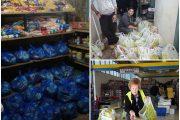 Διανομή τροφίμων στους δικαιούχους του Δωρητηρίου Τροφίμων των Ενεργών Πολιτών