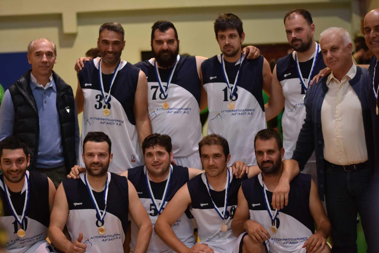 Πρωταθλήτρια Εργαζομένων η ομάδα μπάσκετ του Αυτοκινητόδρομου Αιγαίου– Δείτε το φωτορεπορτάζ του αγώνα