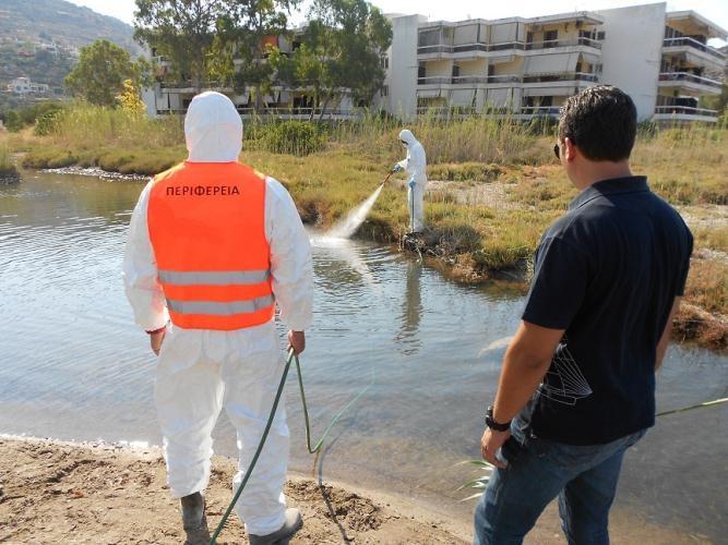 Με εντατικούς ρυθμούς συνεχίζεται το πρόγραμμα Καταπολέμησης Κουνουπιών στην Περιφέρεια Θεσσαλίας