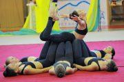 Καλοκαιρινή γιορτή των τμημάτων ρυθμικής γυμναστικής και  μοντέρνου χορού