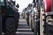 Aγροτικό συλλαλητήριο με τρακτέρ στον Τύρναβο