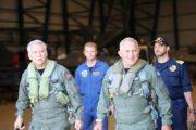 Πτήση των αρχηγών ΓΕΕΘΑ και ΓΕΑ πάνω από το Αιγαίο με μαχητικά