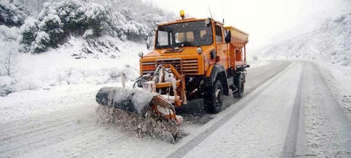 Χιονίζει προς Δομοκό και Μπράλο -Χωρίς προβλήματα η κυκλοφορία