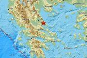 Σεισμός 4 Ρίχτερ τη νύχτα στο Βόλο - αισθητός και στη Λάρισα