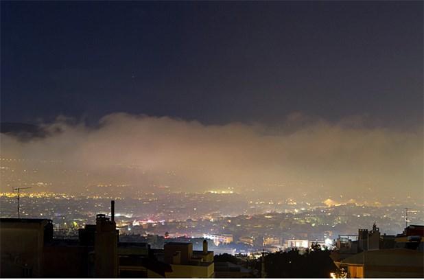 Υψηλές οι επιδόσεις της αιθαλομίχλης τις γιορτές στην πόλη της Λάρισας