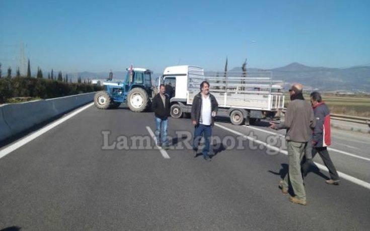 Αποχώρησαν οι αγρότες κανονικά η κυκλοφορία στην Αθηνών – Λαμίας
