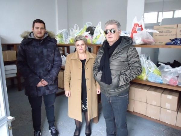 Δωρεές προς το Κοινωνικό Παντοπωλείο Τυρνάβου