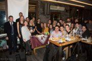 Έκοψε πίτα η γυναικεία ΑΕΛ στο Cafe-bar