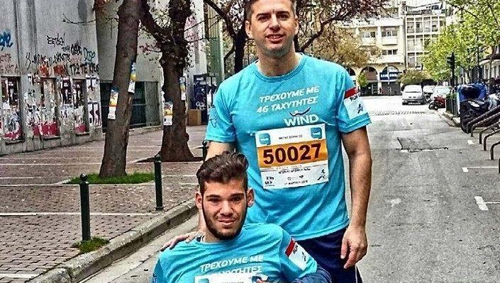 «Δίδυμο αγάπης» στο Run Greece της Λάρισας