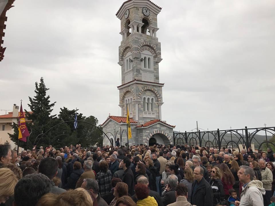 Πλήθος πιστών στο μνημόσυνο του Γέροντα Νεκτάριου Βιτάλη