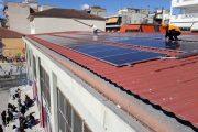 Ολοκληρώθηκε η εγκατάσταση φωτοβολταϊκού στο 4ο Γυμνάσιο Λάρισας