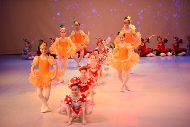 Eτήσιες παραστάσεις της Δημοτικής Σχολής Μπαλέτου