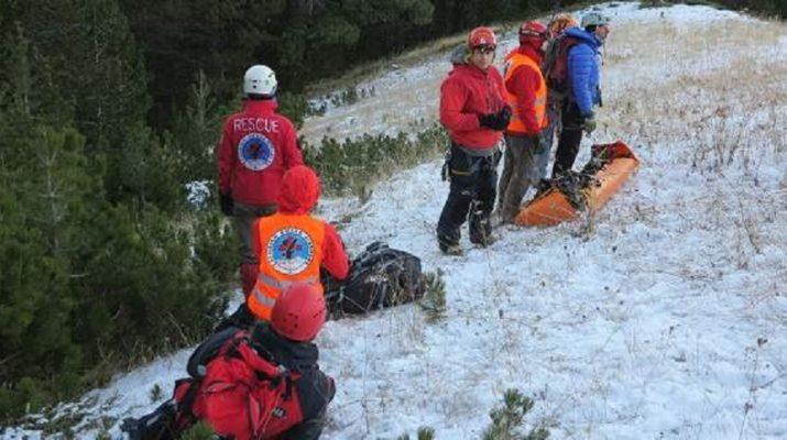 Σε εξέλιξη επιχείρηση διάσωσης τραυματισμένου ορειβάτη στον Όλυμπο
