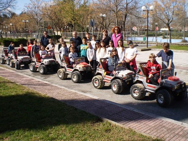 Ξεκίνησε νέος κύκλος εκπαίδευσης στο πάρκο κυκλοφοριακής Αγωγής