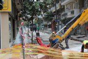 Kλείνει τμήμα της οδού Ηπείρου για χρονικό διάστημα 40 ημερών