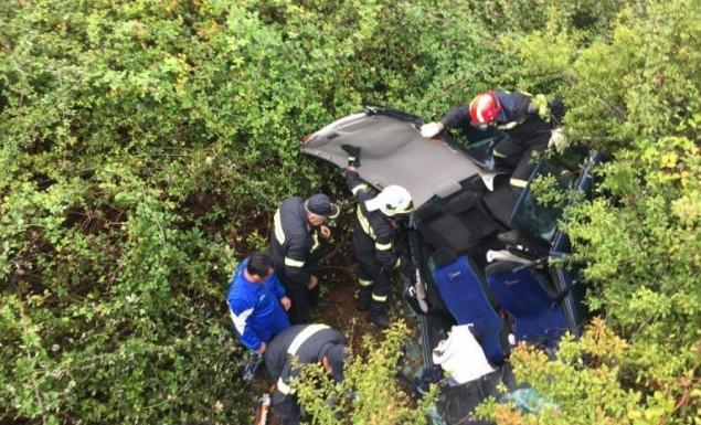 Οικογενειακή τραγωδία – Νεκρό μωρό και τέσσερις τραυματίες σε τροχαίο