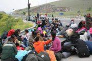 Διαμαρτυρία προσφύγων στο Κουτσόχερο – Έκλεισαν την εθνική οδό