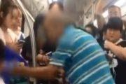 Πανικός σε τρένο: Ηλικιωμένος χτύπησε επιβάτη επειδή δεν του έδωσε τη θέση (Video)