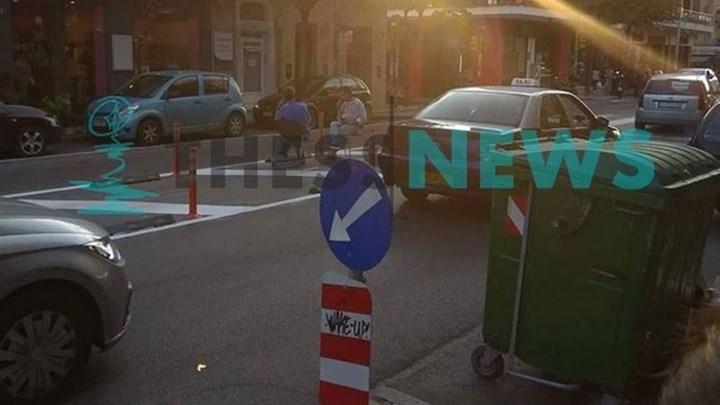 Ήπιαν... χαλαρά τον καφέ τους στη μέση του δρόμου - ΦΩΤΟ