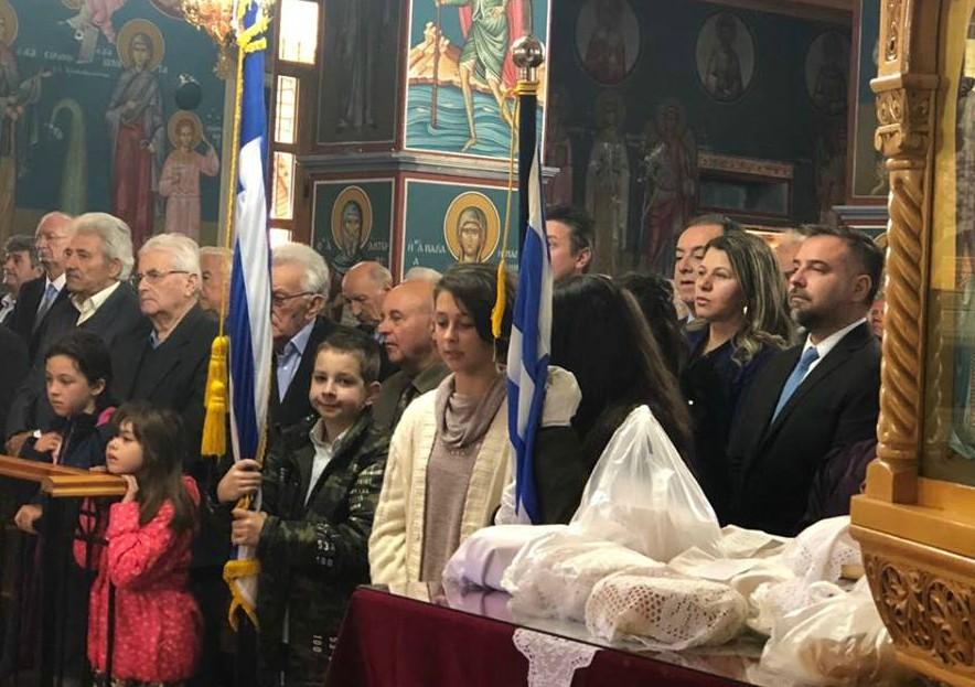 Στην Κρανιά για τη γιορτή του Αγίου Δημητρίου ο Γιώργος Κατσιαντώνης