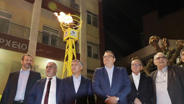 Εγκαινιάστηκε στον Τύρναβο ο νέος σταθμός CNG της ΕΔΑ ΘΕΣΣ