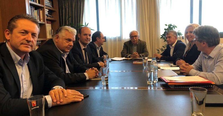 Συνάντηση Κώστα Γαβρόγλου με Αγοραστό - Αντιπεριφερειάρχες : Συνεχίζεται η συζήτηση για Πανεπιστήμιο - ΤΕΙ ΘΕσσαλίας