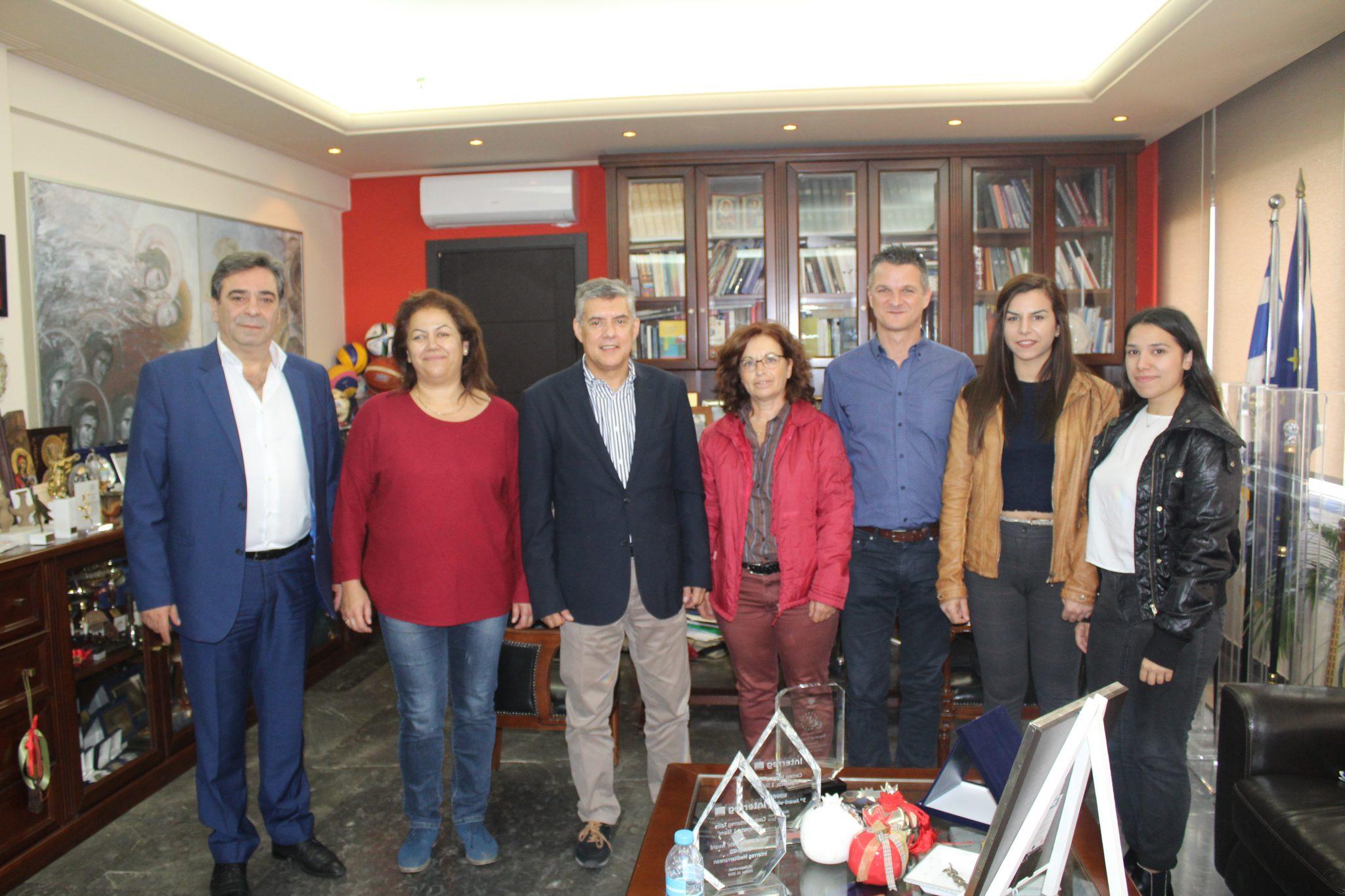 Συνάντηση του Περιφερειάρχη Θεσσαλίας με τον Πολιτιστικό Σύλλογο Μικρασιατών της Επαρχίας Φαρσάλων