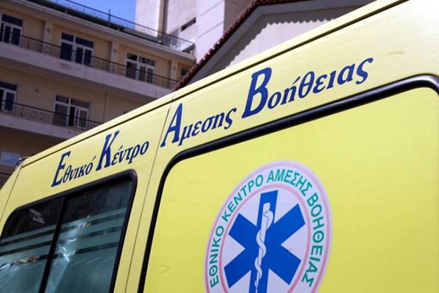 Λάρισα: Τροχαίο με μηχανή και έναν τραυματία
