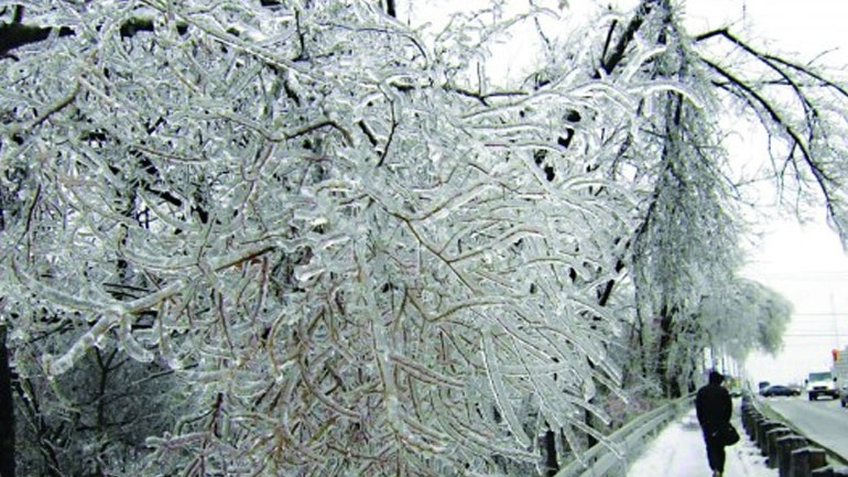 Στην «κατάψυξη» η Θεσσαλία -Αυτή είναι η περιοχή της Λάρισας που η θερμοκρασία έπεσε στους -13 βαθμούς