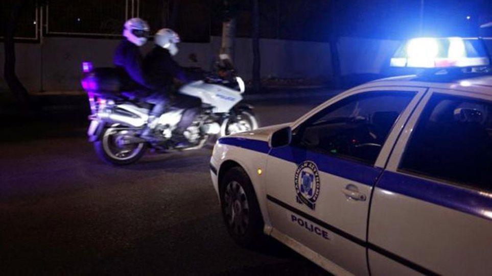 Μεγάλη αστυνομική επιχείρηση στο δρόμο Λάρισας - Τρικάλων