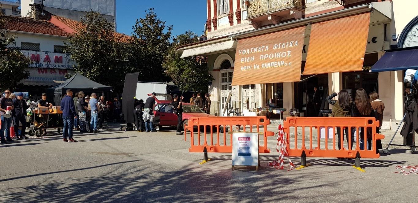 Στο κέντρο της πόλης συνεχίζονται τα γυρίσματα του «Born To Be Murdered»