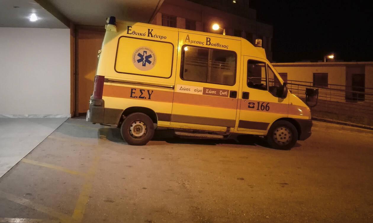 Λάρισα: Λαμπάδιασε αυτοκίνητο έξω από σουπερμάρκετ