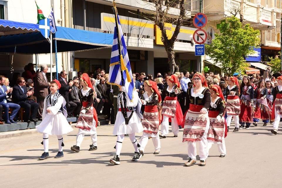 Γιόρτασε την Εθνική Επέτειο της 25ης Μαρτίου η Λάρισα - Δείτε πλούσιο φωτορεπορτάζ