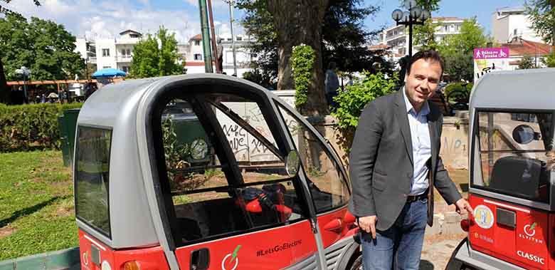 Τα Τρίκαλα είναι… μπροστά: Τώρα και ηλεκτροκίνητα αυτοκίνητα στους δρόμους της πόλης