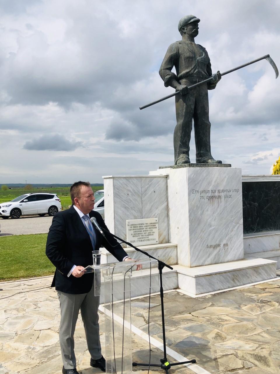 Κόκκαλης στον εορτασμό του Κιλελέρ: Κερδίσαμε σημαντικές μάχες για τον αγροτικό κόσμο