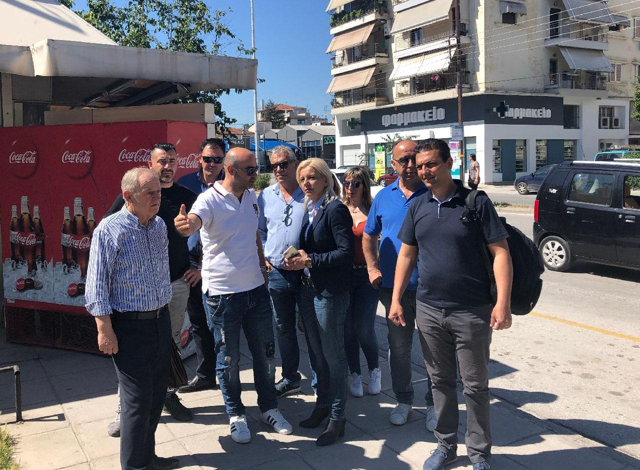 Ρένα Καραλαριώτου: Ζητάμε τη θετική ψήφο των πολιτών