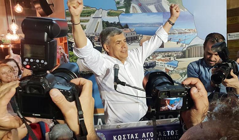 Δήλωση Περιφερειάρχη Θεσσαλίας κ. Κώστα Αγοραστού  για το εκλογικό αποτέλεσμα (VIDEO - PHOTO)