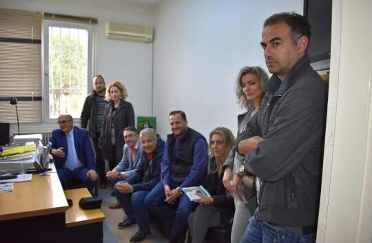 Επίσκεψη Π. Γούλα στο Κατάστημα Κράτησης Λάρισας