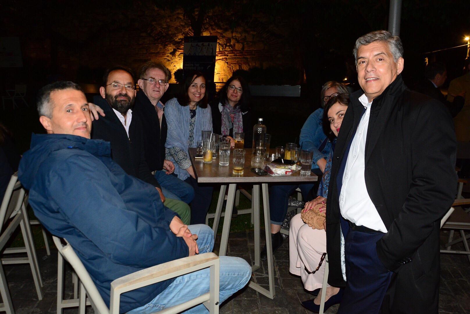 Γιόρτασαν την ημέρα της Ευρώπης στη Θεσσαλία -Δείτε φωτογραφίες από την εκδήλωση στο Φρούριο
