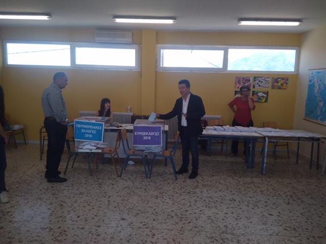Ψήφισε ο Νίκος Πουτσιάκας
