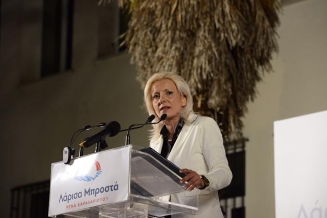 Μούσιος: «Ερχόμαστε να υπηρετήσουμε όλους τους δημότες» είπε σε εντυπωσιακή συγκέντρωση στο Ν. Περιβόλι