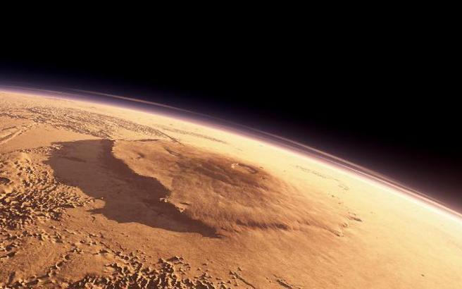 Βρέθηκε νερό σε μορφή πάγου κάτω από την επιφάνεια του Άρη